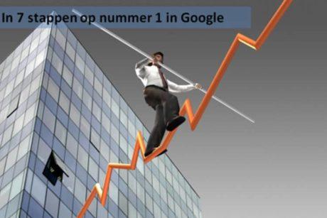 Leer hoe je in zeven stappen snel hoog komt in google en een goede seo positie krijgt