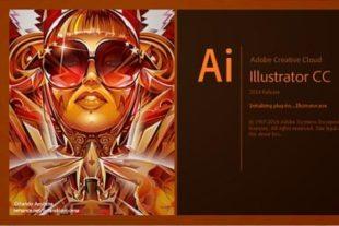 Welkom scherm van de online cursus illustrator het programma om logo's mee te maken