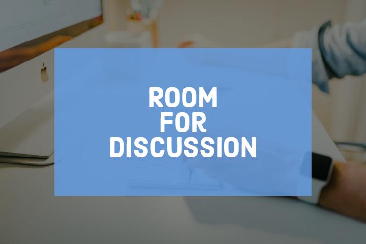 Live sessie van Room for discussion op roeterseiland het discussie platform van de uva