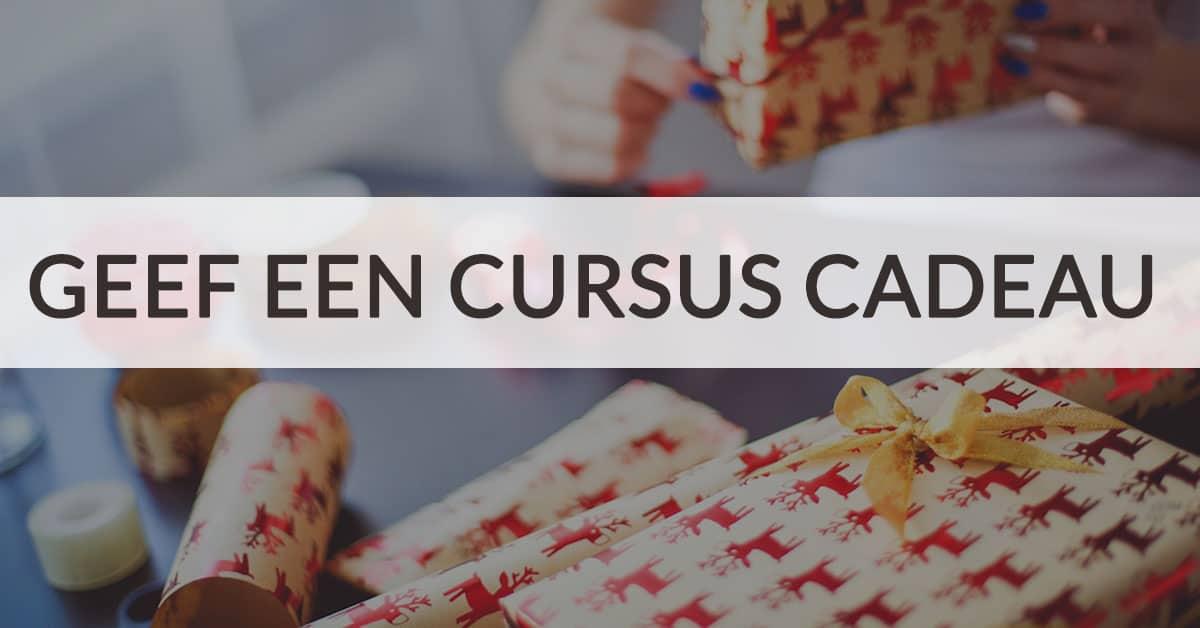 geef deze feestdagen een online cursus cadeau