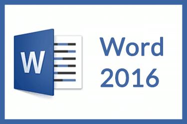 Afbeelding van Online Cursus Word 2016