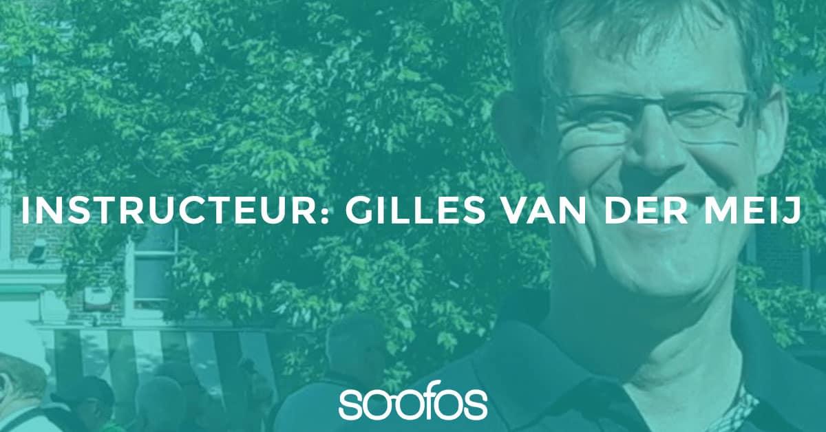 Lees meer over de Soofos instructeur Gilles van der meij en waarom hij een online cursus heeft gemaakt