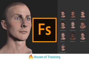 In de online cursus Adobe Fuse leer je hoe je 3d modellen maakt en gebruikt in adobe photoshop