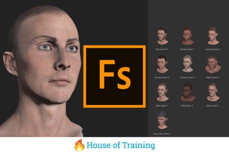 Leer in deze online cursus Adobe Fuse zelf 3D-modellen te creëren.
