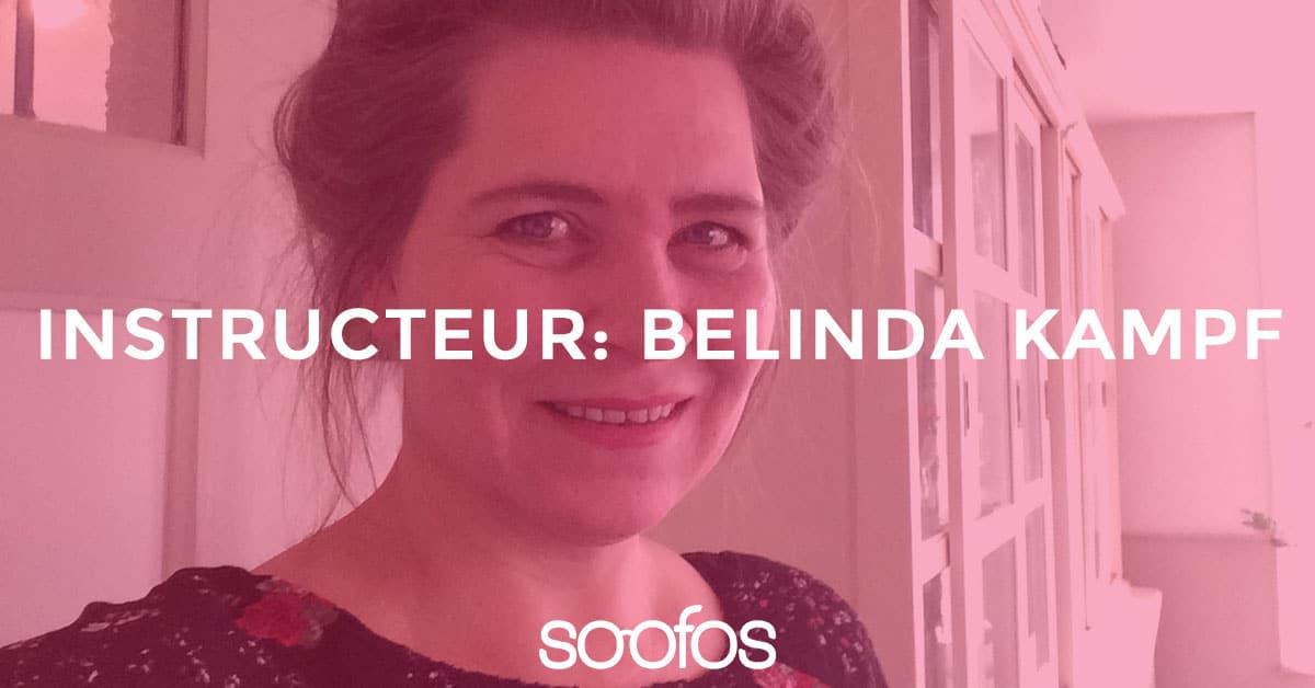 Belinda kampf instructeur op Soofos