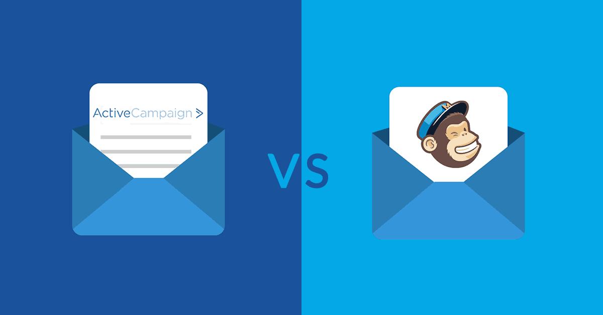 Ontdek het verschil tussen de e-mailmarketingprogramma's MailChimp en ActiveCampaign