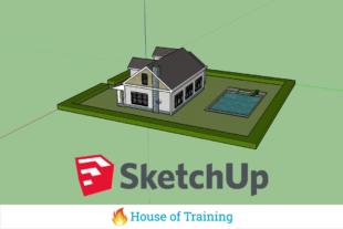 Leer werken met SketchUp Make en het maken van 3D-objecten in deze cursus 3D-tekenen