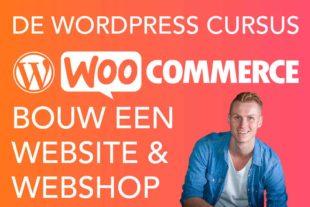 Leer in deze online wordpress cursus hoe je zelf eenvoudig een eigen professionele website maakt