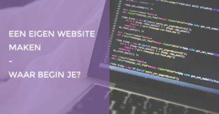 Leer makkelijk en snel je eigen website maken