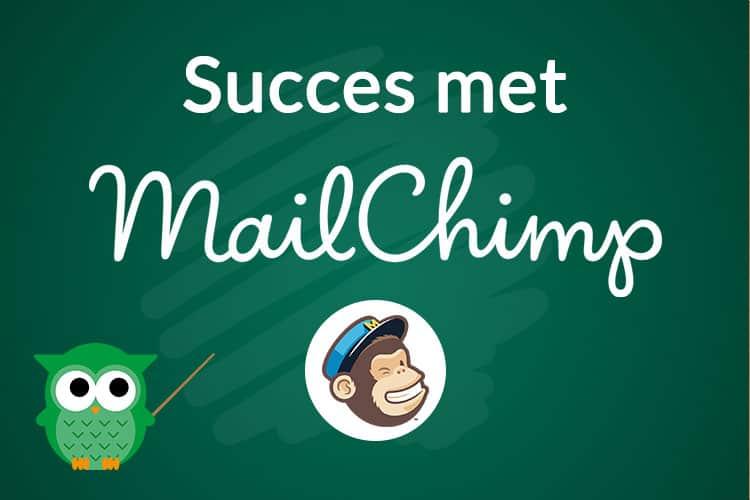 In deze online cursus leer je hoe succes met mailchimp bereikt en goede nieuwsbrieven verstuurt naar jouw klanten