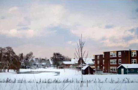 Winter landschap foto project nadat deze is bewerkt met Lightroom. Leer in deze online cursus hoe je foto's bewerkt