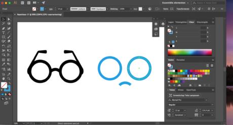 Stap 3 Illustrator logo designen