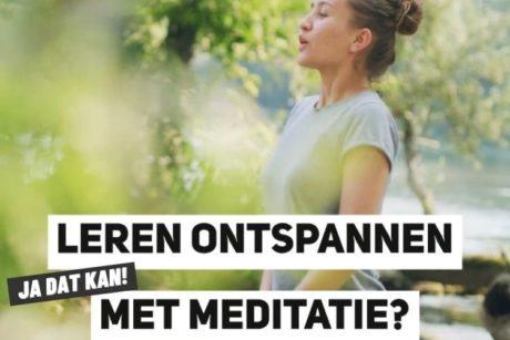 In deze online cursus leer je hoe je kunt ontspannen met meditatie