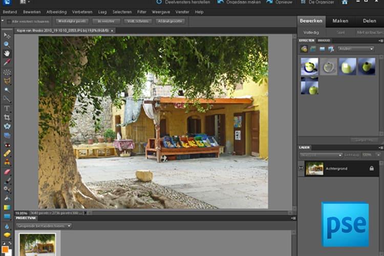 Leer alles over Photoshop Elements 9/10