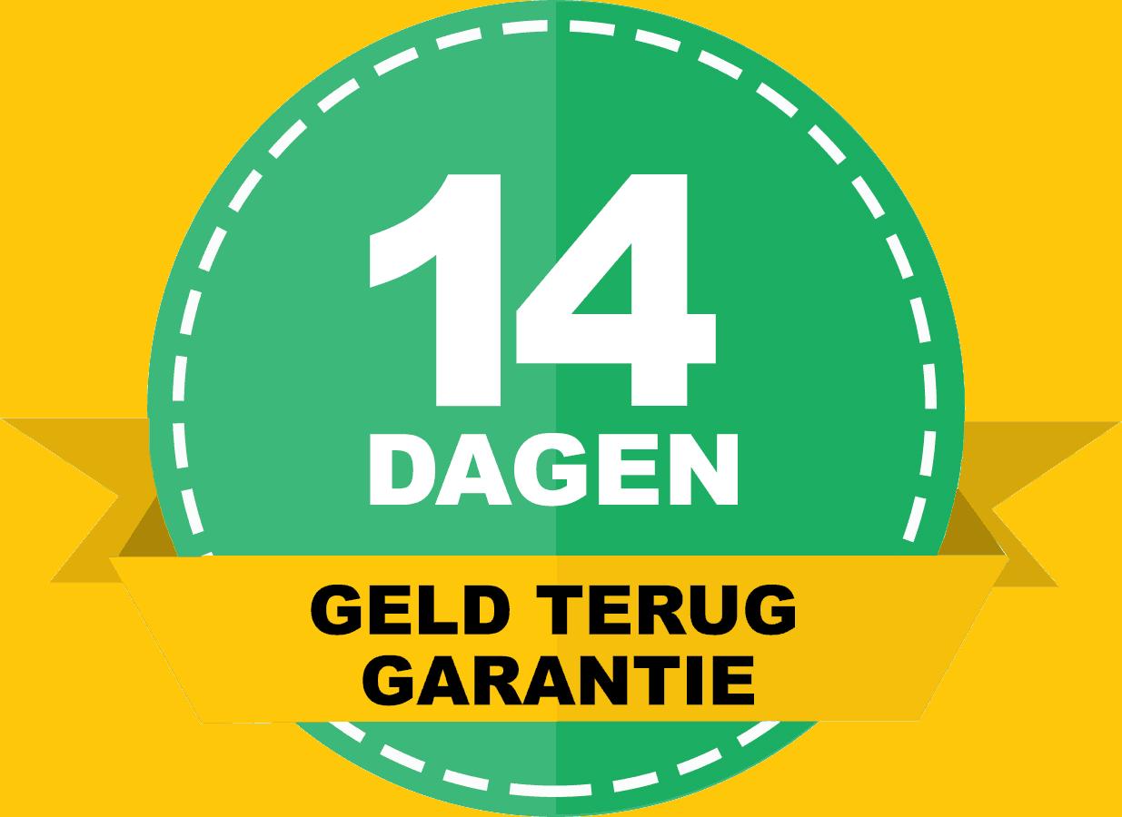 14 dagen niet goed geld terug garantie