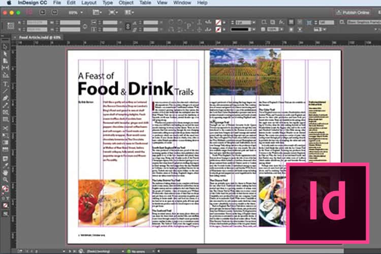 InDesign - Ontwerp een folder, magazine of nieuwsbrief