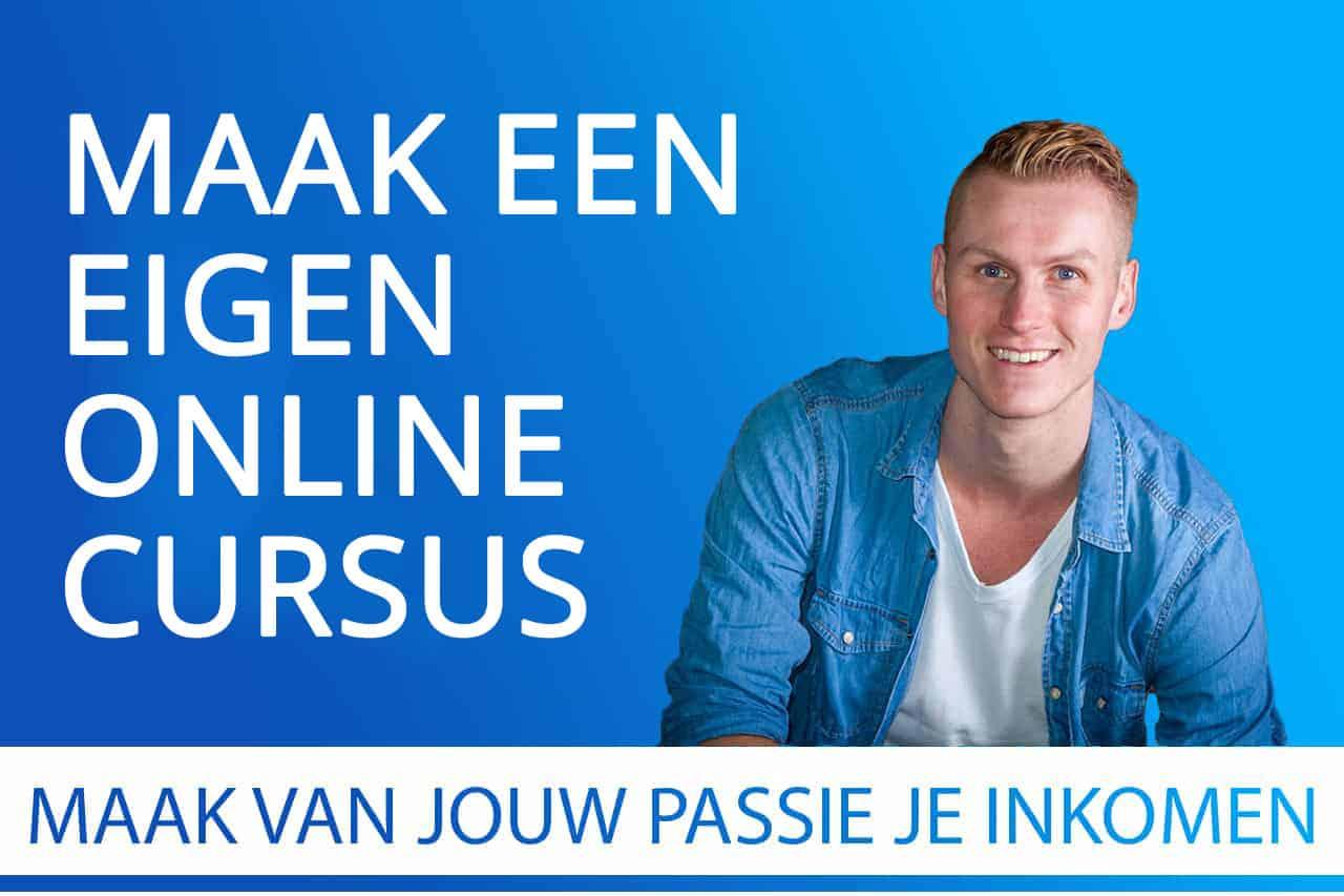 In deze gratis cursus ga je zelf een eigen online cursus maken