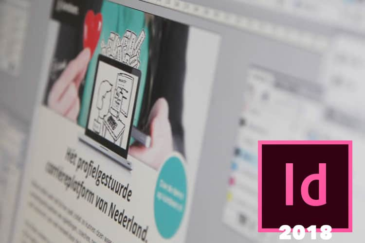 Leer in deze online cursus InDesign CC 2018 alles over DTP.