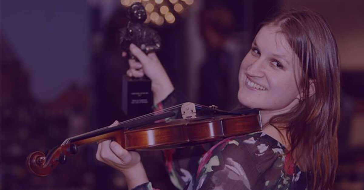 Lees over Zlata Brouwer, instructrice van de cursus vioolspelen
