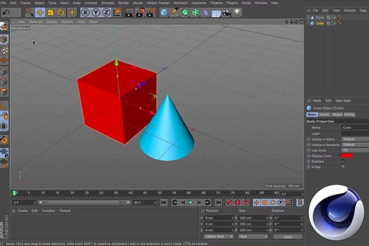 Ga aan de slag met 3D animaties in Cinema 4D met deze gratis cursus animeren