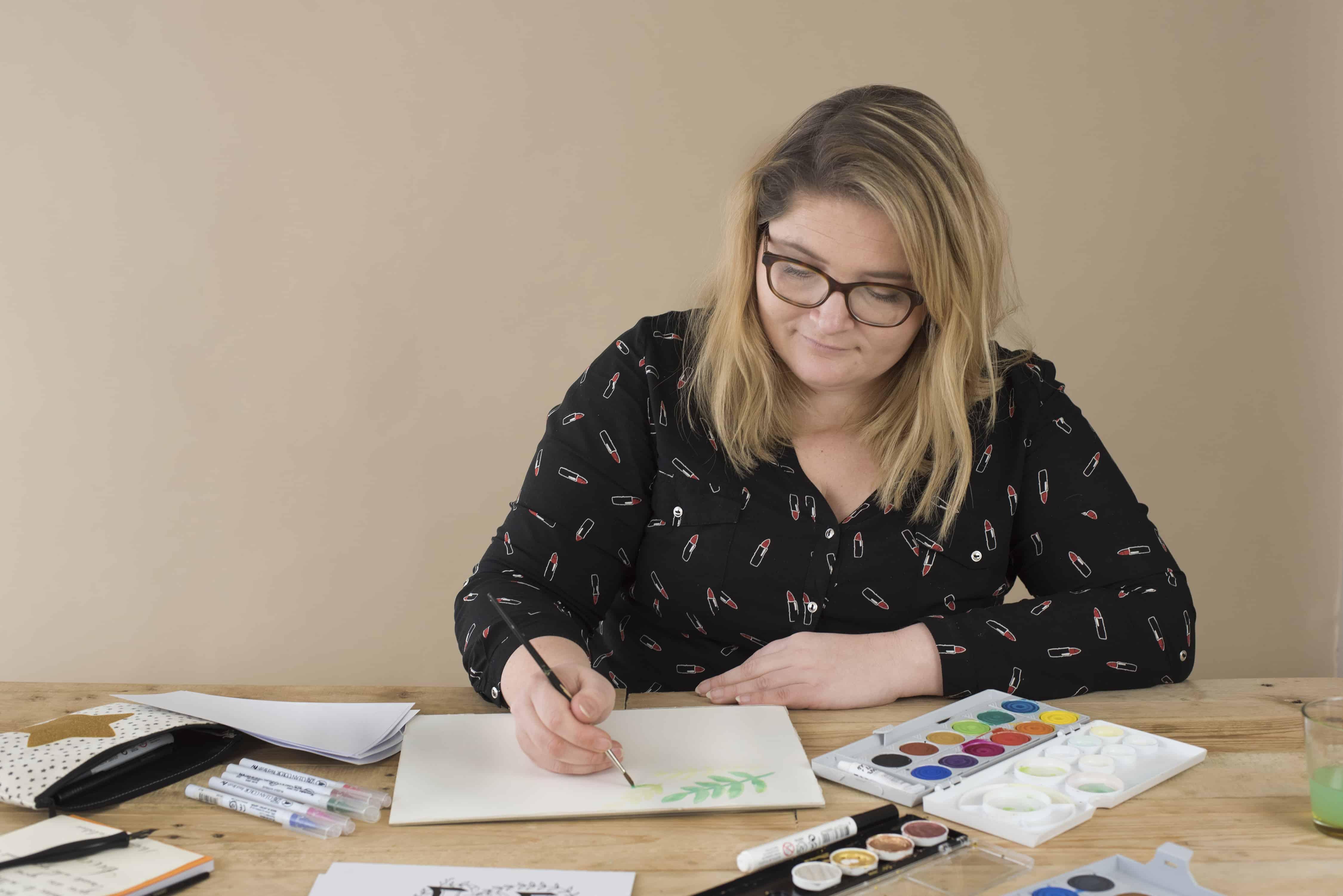 Online Cursus Handletteren met Kleur
