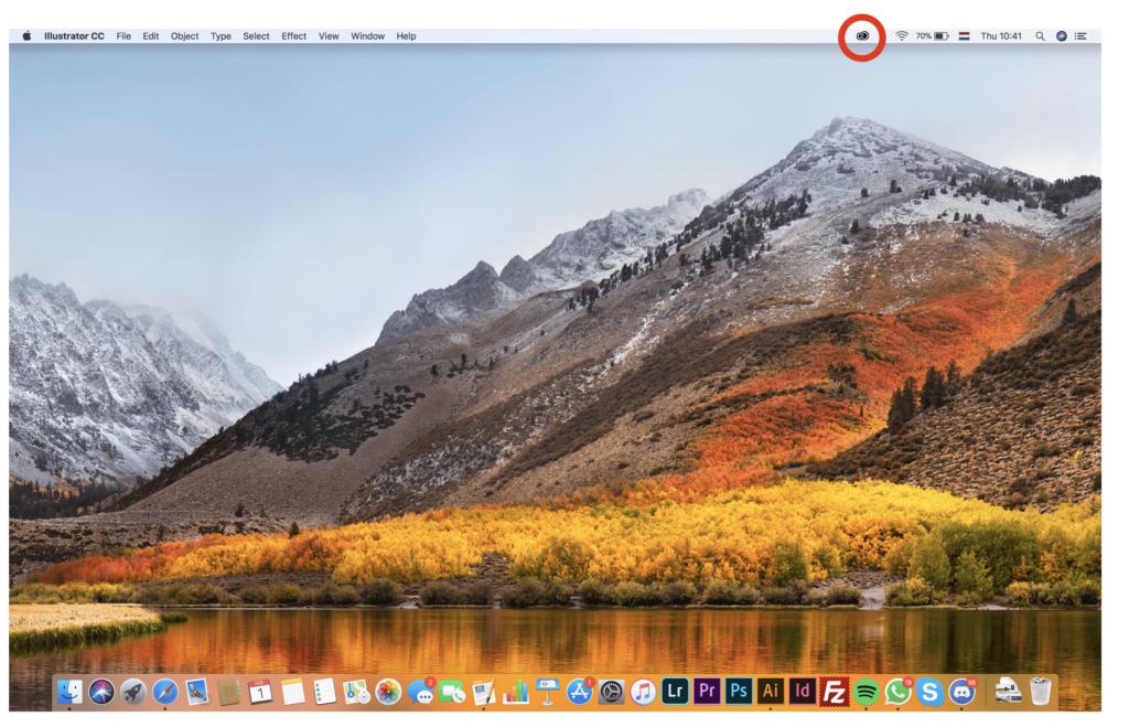 (Taal wijzigen van CC op Mac) Stap 1: Open het Adobe CC programma.