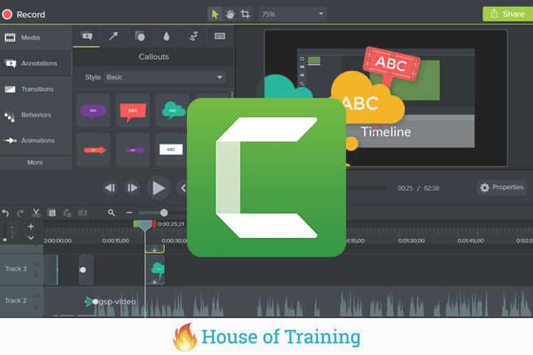 Leer alles over Screencasting met Camtasia in deze online cursus