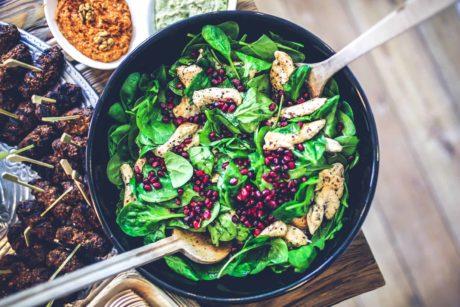 Gezond ondernemerschap: Neem eens een salade i.p.v. een hamburger.