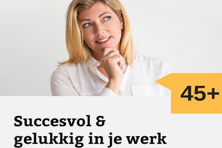 De training voor de 45+ vrouw voor succes en geluk