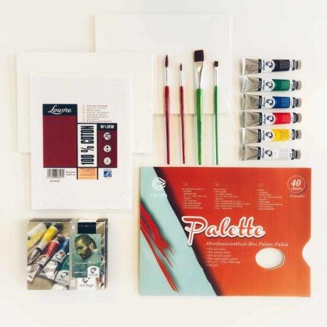 schilderen Olieverf pakket