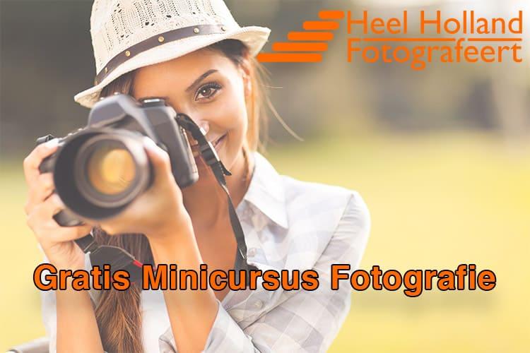 Ga aan de slag met deze gratis minicursus fotografie