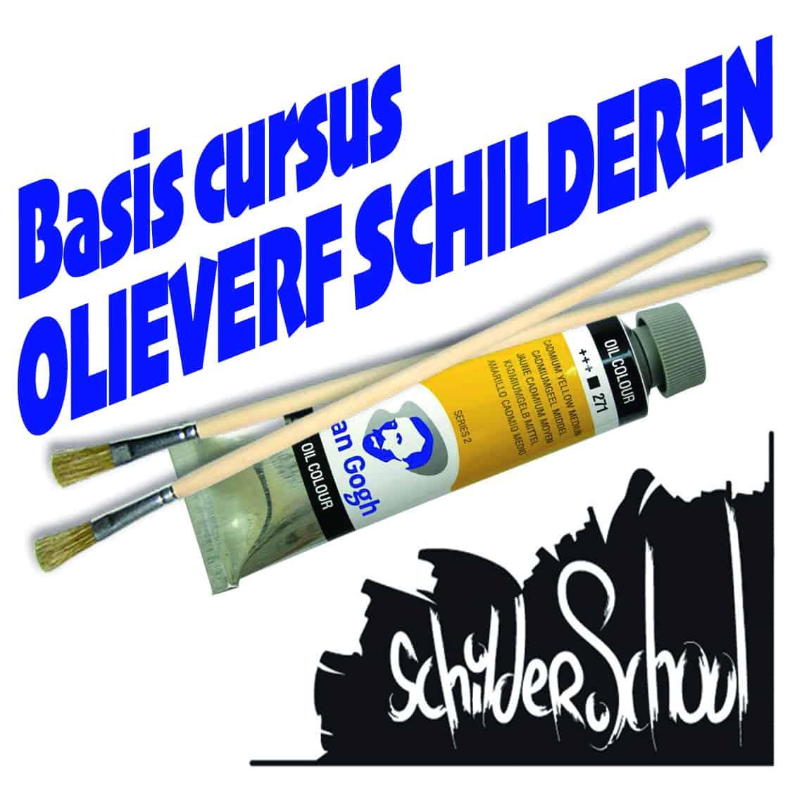 Basiscursus Schilderen met Olieverf