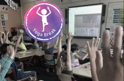 Leer kennis maken met yogabreak voor in de klas