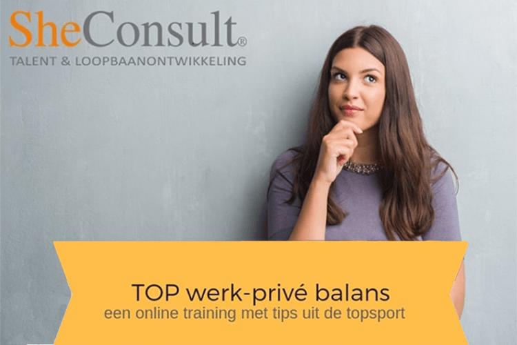Leer een goede werk-privébalans te creëren