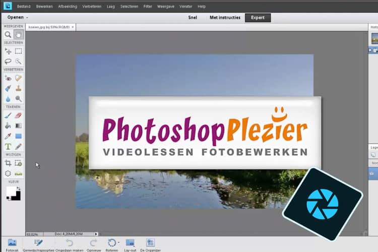 Leer in deze online cursus alles over Photoshop Elements 2020.