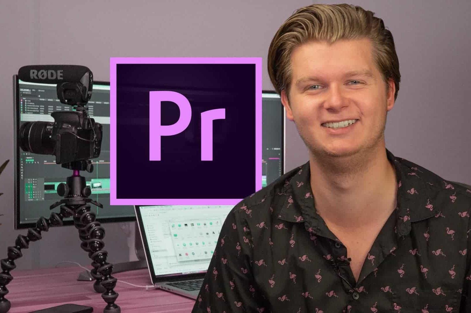 Leer alles over video-editing met Premiere Pro