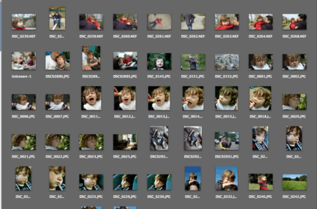 Kinderportretfotografie, denk aan het archiveren van de foto's.