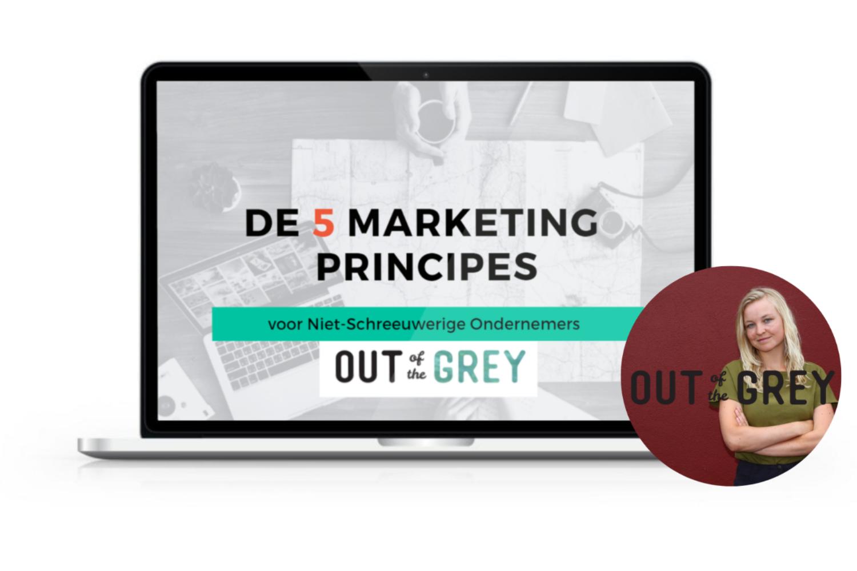 Ga als ondernemer aan de slag met marketing