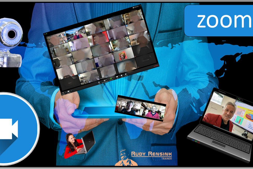 In deze online cursus leer je alle mogelijkheden van zoom het online vergaderprogramma
