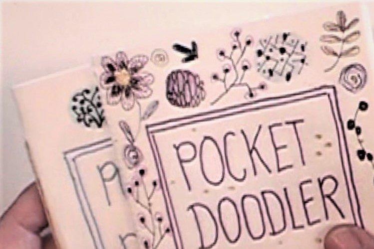 In de cursus Art Journal Pocket Doodler maken, leer je hoe je een pocket size art journal kunt maken