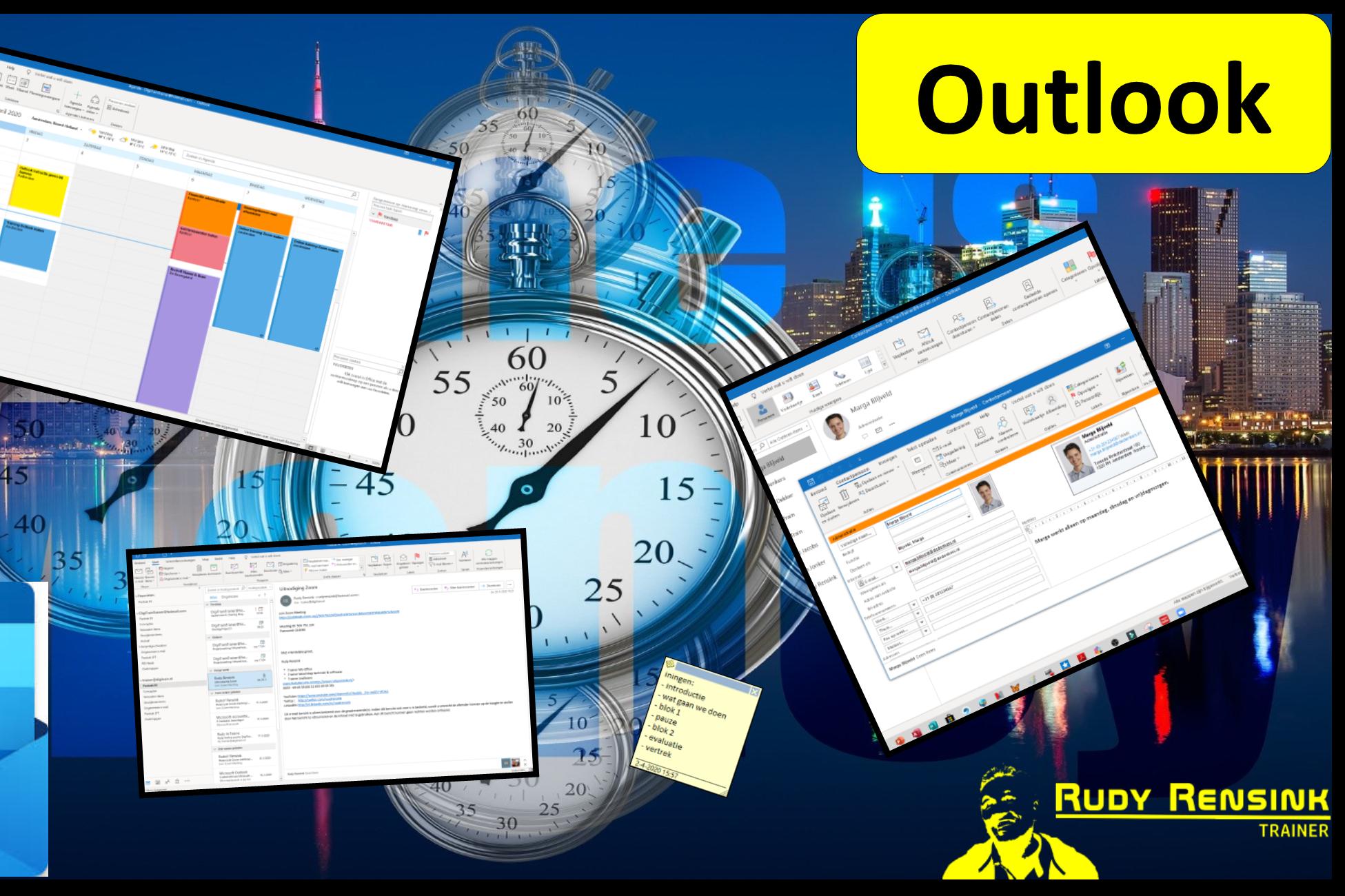 In deze cursus leer je alles over Outlook