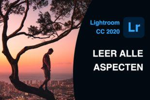 In de cursus Lightroom CC 2021 leer je foto's bewerken