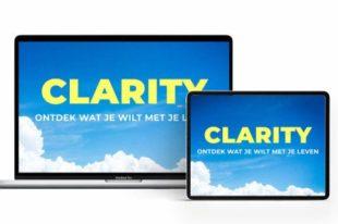 In de cursus Clarity leer je wat je wilt met je leven