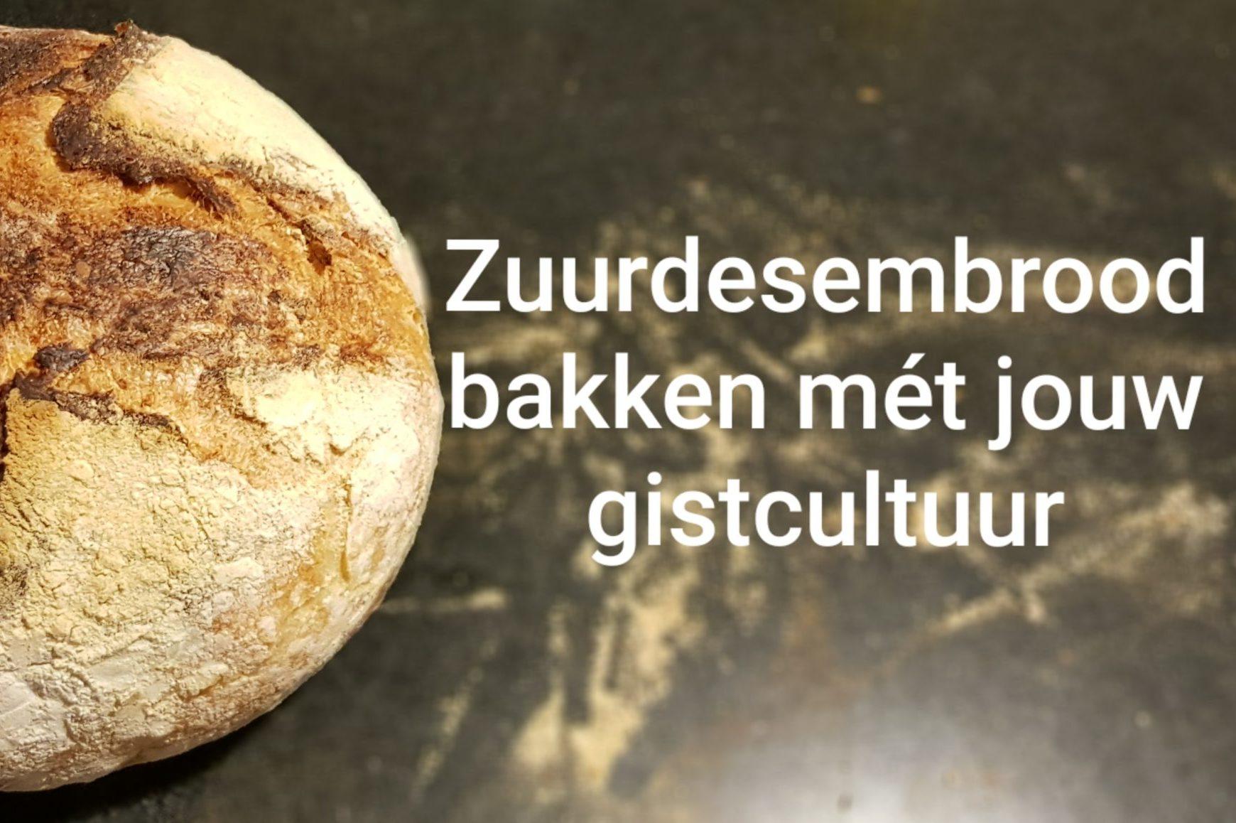 In de cursus Zuurdesem broden bakken leer je alles over het bakken van zuurdesembrood met je eigen gistcultuur