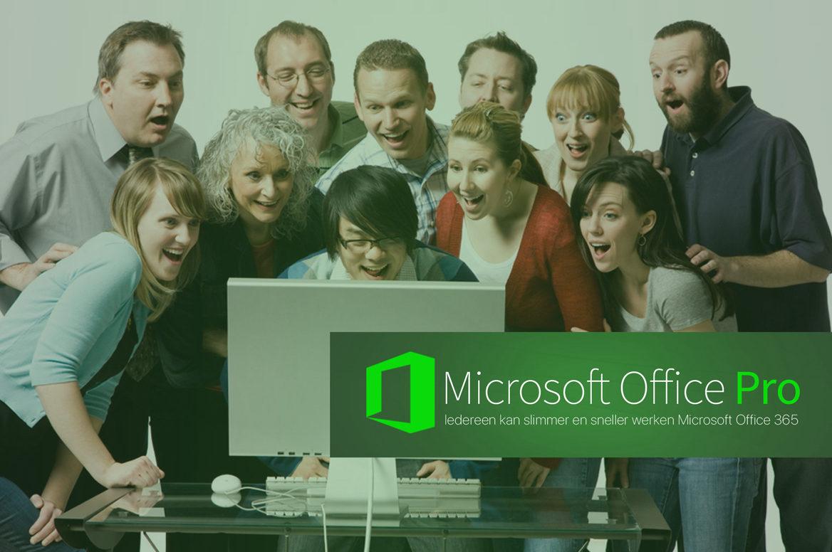 In deze cursus leer je slim en snel werken met Microsoft Office 365