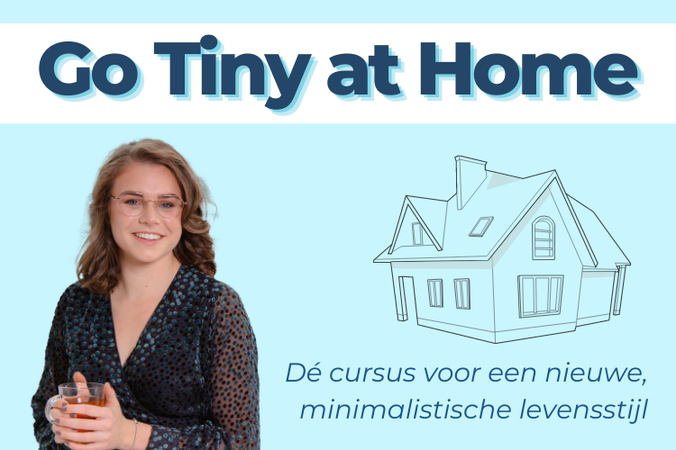 In deze online cursus leer je hoe je een tiny house levensstijl kunt krijgen, maar dan in je eigen huis