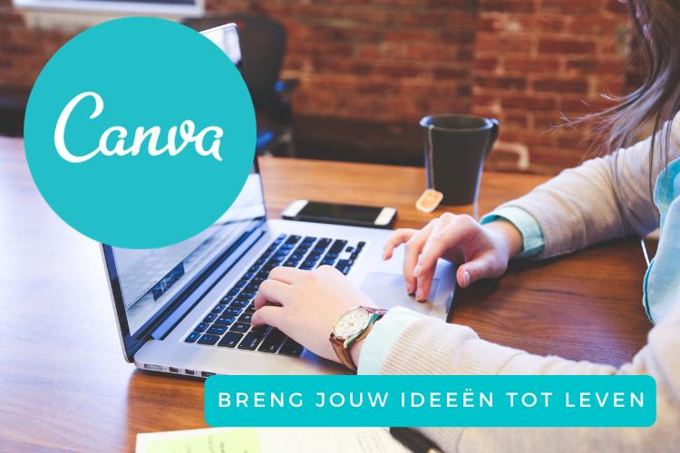 In deze cursus leer je je ontwerpen tot leven te brengen met Canva
