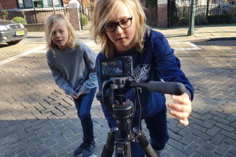 In deze cursus vloggen voor kinderen leert je kind alles over verantwoord vloggen