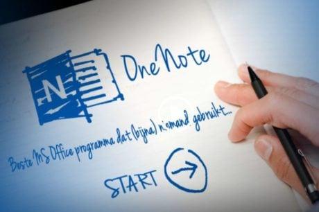 Leer de handigheidjes van Microsoft OneNote