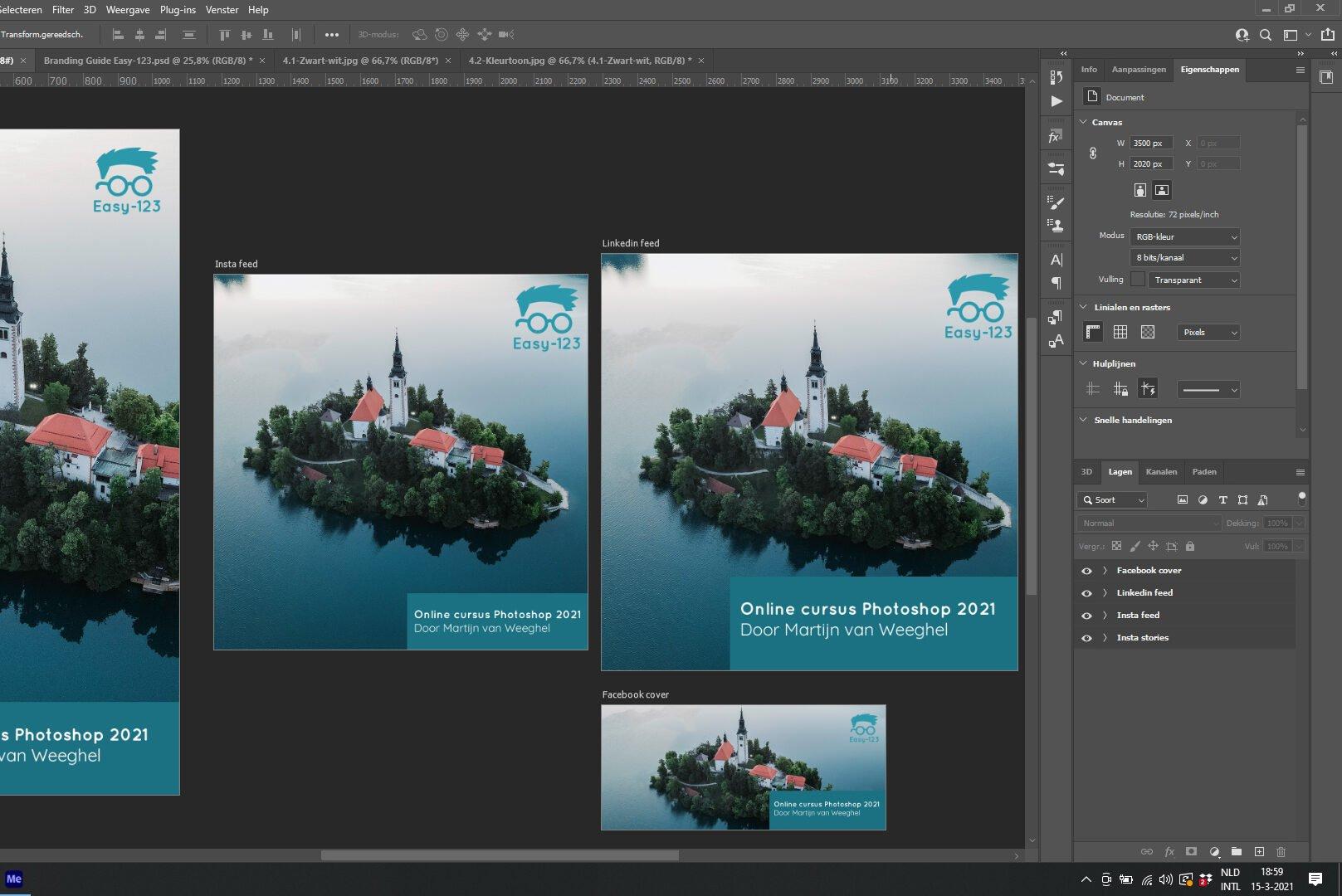 Online cursus Photoshop voor online marketing